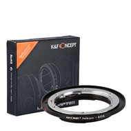 K&F Concept Nikon AI Lenses to Canon EOS Camera Mount Adapter KF06.088