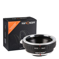 K&F Concept Canon EOS EF Lenses to Micro Four Thirds (M4/3) Camera Mount Adapter KF06.090