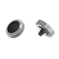 JJC Deluxe Soft Release Button SRB-GR ( Silver & Black)