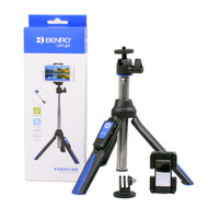 Benro Mini Tripod and Selfie Stick BK10 for Smartphone / GoPro (Bluetooth, Table Top)