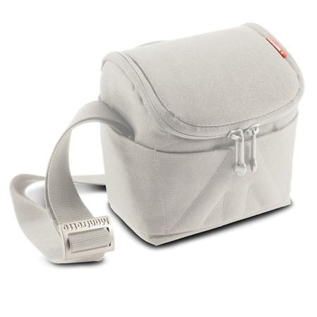 Manfrotto Amica 10 Dove Shoulder Camera Bag Stile Plus MBSVSB10DV (Light Grey)