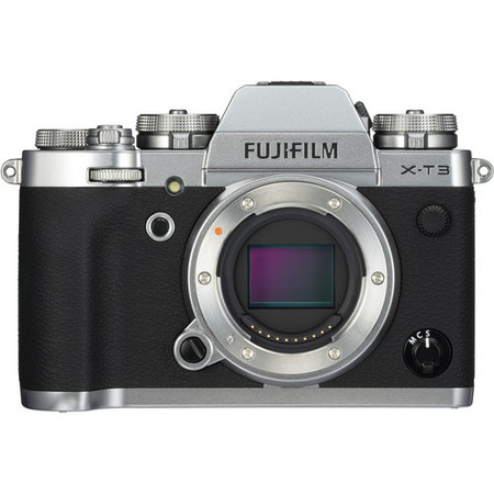 Fujifilm X-T3 Mirrorless Digital Camera Body Only (Silver)