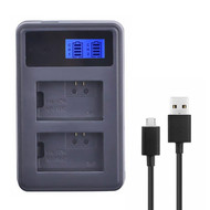 Fotolux D1-NP-FW50 Dual Battery Charger for Sony NP-FW50 (USB)