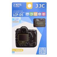 JJC LCP-D5 LCD Guard Film Screen Protector for Nikon D5 (Adhesive