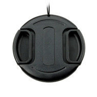 JJC LC-62 Snap-On Lens Cap 62mm with string