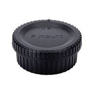 JJC L-R16 Body Cap & Rear Lens Cap for Nikon F-Mount