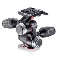 Manfrotto MHXPRO-3W X-PRO 3-Way Tripod Head with Retractable Levers (Pan / Tilt Head)