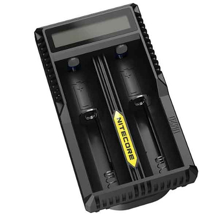 Nitecore UM20 Micro USB Battery Charger for 18650, 18490, 18350, 17670, 17500, 16340(RCR123), 14500, 10440