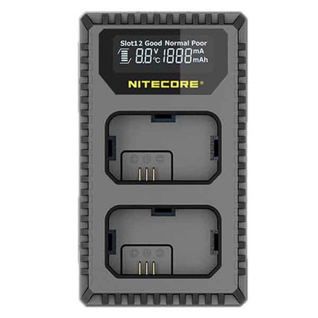 Nitecore USN1 USB Dual-slot Camera Battery Charger for Sony NP-FW50