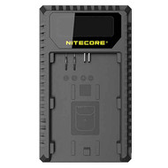 Nitecore UCN1 USB Dual-slot Camera Battery Charger for Canon LP-E6, LP-E6N, LP-E8
