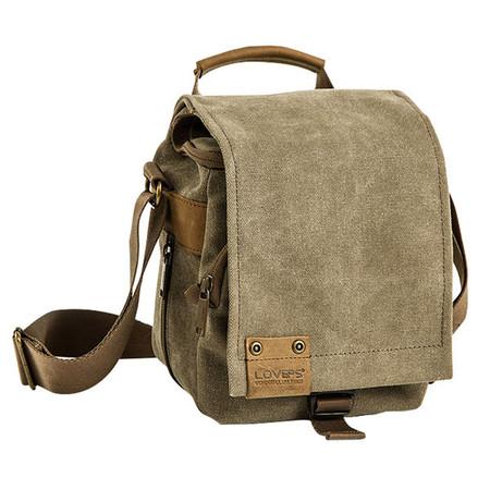 Loveps LP-TR-1225 Camera Shoulder Bag (Brown , Small)