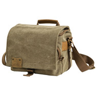 Loveps LP-TR-1230 Canvas Camera Shoulder Bag (Brown , Medium)