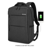 Balang BLB1735 Smart Multi Backpack with USB charging interface (Black , 30 x 43 x 15cm)