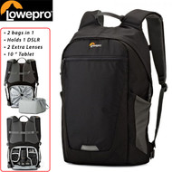 Lowepro LP36957 Photo Hatchback BP 250 AW II Backpack (Black & Grey)