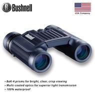 Bushnell 12 x 25 mm H2O Roof Binocular (Black ,Compact) 132105