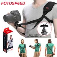 FOTOSPEED F1 Single Camera Shoulder Strap for Pro DSLR