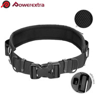 Powerextra Utility Adjustable Waist Strap Belt with D-rings