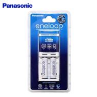 Panasonic eneloop Standard Battery Charger with 2 x AA Batteries (AA, AAA)