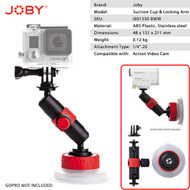Joby Suction Cup & Locking Arm for GoPro and Action Video Cameras