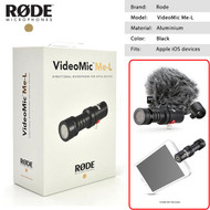 Rode VideoMic Me-L Directional Microphone for iPhone , iPad (Apple iOS devices)