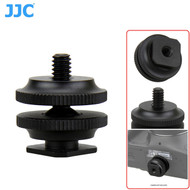 """JJC MSA-11 Shoe Adapter with Male and Female 1/4-20"""" (Thread)"""