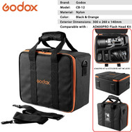 Godox CB-12 Portable Flash Hard Case Bag for AD600Pro Flash Head Kit
