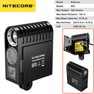 Nitecore GP3 360 Lumens LED Action Camera Light for GoPro & Sony Action Cameras