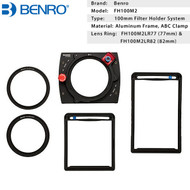 Benro FH100M2 Master 100mm Square Filter Holder Kit with 77mm , 82mm Rings
