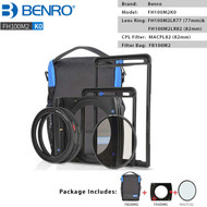 Benro FH100M2K0 FH100MarkII Square Filter Kit with 82mm CPL Filter & FB100M2 Filter Bag