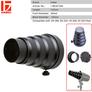 Jinbei DII Special Conical Snoot with Honeycomb for DII , EII Flash