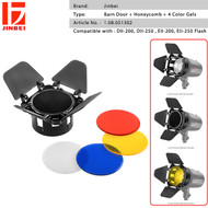 Jinbei DII Special Accessories Kit (Barndoor & 4 Color Gels) for DII , EII Flash