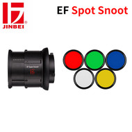 Jinbei EF Spot Snoot with Magnetic Colour Gels