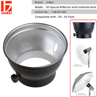 """Jinbei DII 6"""" Special Reflector with Umbrella Hole for DII , EII Flash"""