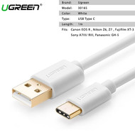UGREEN 30165 Type C male to USB 2.0 Male Cable ( 1m , White)
