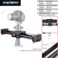 CACAGOO CS-V500 Extendable Video Slider (50cm , Belt Type)| Payload: 8kg