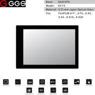 GGSFOTO G5-F2 GEN 5 Metal-border Glass LCD Screen Protector for Fujifilm X-T1 , XT-2 , X-A3 , X-A5 , X-A10 , X-A20