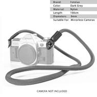 Fotolux Climbing Rope Camera Strap for Mirrorless Cameras (Dark Grey , 100cm long)