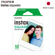 Fujifilm Instax SQUARE Instant Film (10 Sheets , White) 87300 - Made in Japan