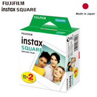 Fujifilm Instax SQUARE Instant Film (20 Sheets , White) 87301 - Made in Japan