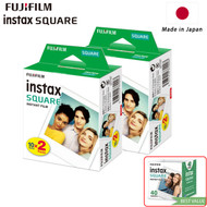 Fujifilm Instax SQUARE Instant Film (40 Sheets , White) 87304 - Made in Japan