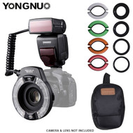 Yongnuo YN14EX II Macro Flash Light Kit with 4 color filters (Large LCD Display)