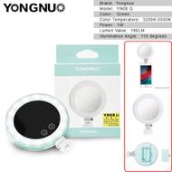 Yongnuo YN08 1W Mini LED Ring light for Smartphone (3200-5500K , Green)