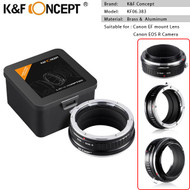 K&F Concept KF06.383 Lens Adapter for Canon EF Lenses to Canon EOS R Camera Mount