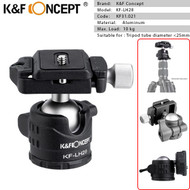 K&F Concept KF-LH28 Low Profile Ball Head KF31.021 (Max. Load: 10kg)