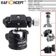 K&F Concept KF-LH28 Low Profile Ball Head KF31.021 (Max. Load: 10kg)