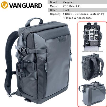 Vanguard VEO Select 41 Backpack (Black) V247601