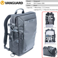 Vanguard VEO Select 45M Backpack (Black) V247625