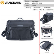 Vanguard VEO GO 34M Camera Shoulder Bag (Black) V247151
