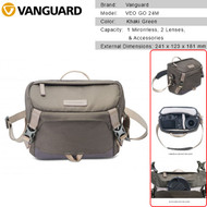 Vanguard VEO GO 24M Camera Shoulder Bag (Khaki Green) V247144