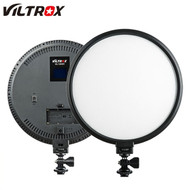 Viltrox VL-500T 25W Round Video LED Light with LCD Display (3300K-5600K)